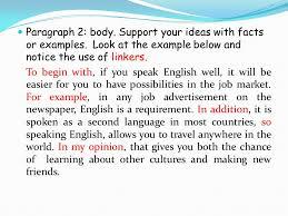 unit   colegio academia preuniversitaria opinion essay  opinion essay   structure title discuss the importance of english language in our society