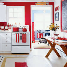 kitchen red decorating ideas pictures in blue decor items