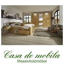 Echtholz Schlafzimmer Set 4 Teilig Kiefer Massiv Gelaugt Geölt Gloria