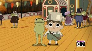 episode 9 opens whit a rock tune that was created by the creator of the show over the garden wall