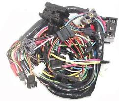 68 mustang main underdash wiring harness w tach ebay Mustang Wiring Harness Diagram at Complete Wiring Harness 68 Mustang