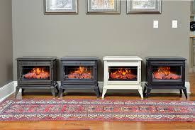 electric fireplace stove. comfort smart jackson cream infrared electric fireplace stove with remote control - cs-25ir-crm a