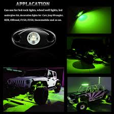 F150 Underbody Lighting Details About 2x Aluminum 3 Led Rock Lights For Jeep Off Road Truck Atv Underbody Light Green