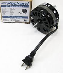 PACKARD 3.3 Inch Diameter Vent Fan Motor Direct Replacement ...