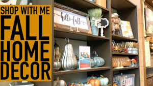 Small Picture SHOP WITH ME FOR FALL HOME DECOR KIRKLANDS DOLLAR TREE FALL