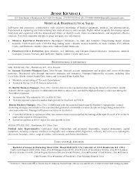 Medical Rep Resume Resume Medical Representative Medical Sales Rep