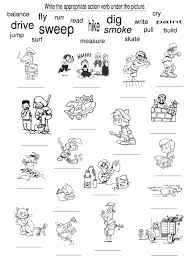 Free Coloring Pictures Of Animals Doing Action Words For Resume