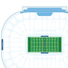 Notre Dame Stadium Detailed Seating Chart Notre Dame Stadium Interactive Football Seating Chart