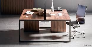 office desk walnut. frame walnut office desk with black leg n