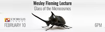 Wesley Fleming Lecture: Glass of the Microcosm | Feb. 10 — Sonoran Glass  School