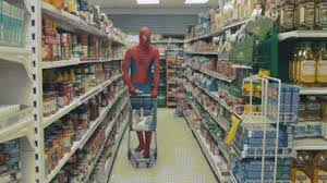 Shopping Spidey Goes Funny Goes Spidey