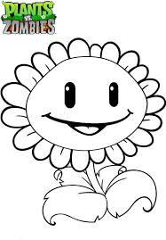 Unusual Plants Vs Zombies Coloring Pages Unlimited To Download And