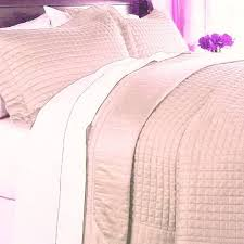 HOTEL 400tc MODERN Solid Pink COVERLET QUILT BEDDING SET King ... & HOTEL 400tc MODERN Solid Pink COVERLET QUILT BEDDING SET King/California  King Adamdwight.com