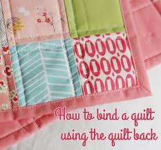 Binding a quilt with the quilt back | Cluck Cluck Sew & I made a doll quilt before Christmas and realized I'd never posted a  tutorial on this quick and easy binding method. Since I know a lot of you  are ... Adamdwight.com