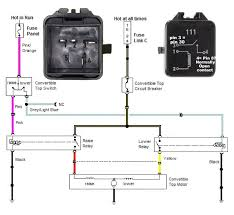 convertible pump wiring diagram page mustang monthly mustang 90 convertabletopdiagram zps34dbbfb6