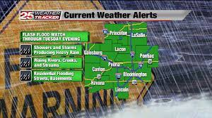 Flash Flood Watch continues for the region