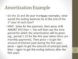 43 amortization example