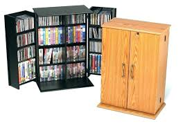 dvd stands cabinet storage cabinet glass doors black small locking media storage cabinet at within