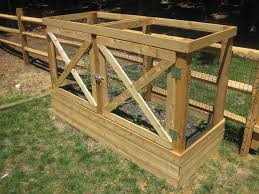 Raised Garden Bed Design Ideas As Much As We Love Wildlife We Dont Want The Animals To Reap