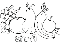Fruit Coloring Sheets Royaltyhairstorecom