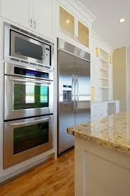 why you should flush mount a wall oven