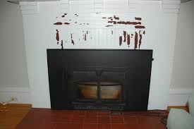 removing paint from brick fireplace painting diy room home