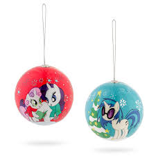 My Little Pony Holiday Ornament Set Additional Image. Click to zoom