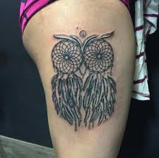 Indian Dream Catcher Tattoo Awesome 32 Dreamcatcher Tattoos Meanings Ultimate Guide September 32