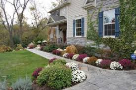 Landscaping in Fall for Oklahoma City, Oklahoma