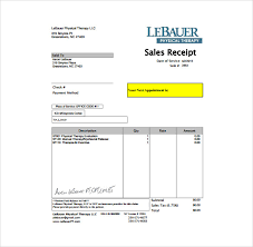 sale receipt template free sample sales receipt template 17 free documents in word pdf