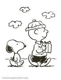 Small Picture Snoopy Christmas Coloring Pages Cartoon Cartoon Coloring Pages