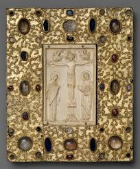 artistic interaction among cultures in medieval iberia essay   book cover byzantine icon of the crucifixion
