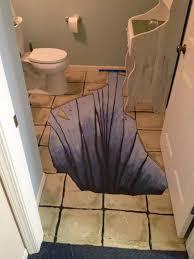 chalk paint over concrete bathroom floor to appear as tile paint bathroom floor ceramic tiles