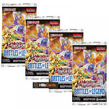 Battles Of Legend Light S Revenge Yu Gi Oh Trading Card Game Yu Gi Oh Battles Of Legend Lights Revenge 4 Sealed Booster Packs