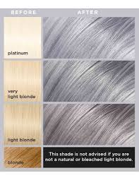 Light Grey Dye Loreal Colorista Silver Grey Permanent Gel Hair Dye L