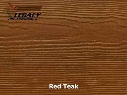 James Hardie Plank Coverage Chart James Hardie Prefinished Cedarmill Lap Siding Red Teak