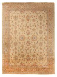 heritage persian oriental traditional handmade wool 8x10 area rug yellow beige