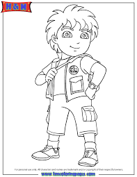 Small Picture 8 Year Old Latino Boy Diego Coloring Page H M Coloring Pages