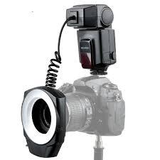 Godox Ring 48 Macro Ring Light Zorrlla Ml 150 Macro Ring Flash Speedlite Guide Number 10 With 6 Lens Adapter Rings For Canon Nikon Pentax Olympus Dslr Cameras