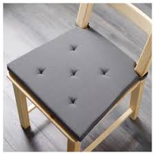 cushion usd ikea justin ner cushions gray dining chair x work seat cush 15 argos