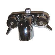 Pegasus 2 Handle Claw Foot Tub Faucet Without Hand Shower In