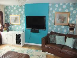 Wallpapering For A Living Room Wallpapered Chimney Breast Ideas A Wallppapers Gallery