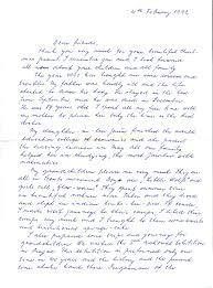 tabor letter 1992 1