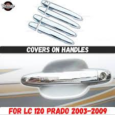 <b>Накладки на боковые зеркала</b> для Land Cruiser Prado 120 2003 ...