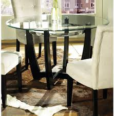Round Glass Dining Table 42 Inches Alasweaspire 52 Inch Round Glass Dining Table