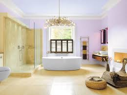 bathroom modern bathroom with chandelier and doorless stunning stalls for your awesome
