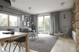 aranżacje wnętrz salon mieszkanie 92m2 salon styl skandynawski pracownia architniczna małgorzaty