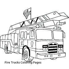 Free Printable Fire Truck Coloring Pages Engine G Page For Toddlers