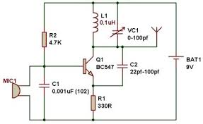 fm transmitter circuit working and its applications fm transmitter circuit