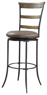 bar chairs with backs. Hillsdale Charleston Swivel Ladder Back Bar Stool Chairs With Backs T